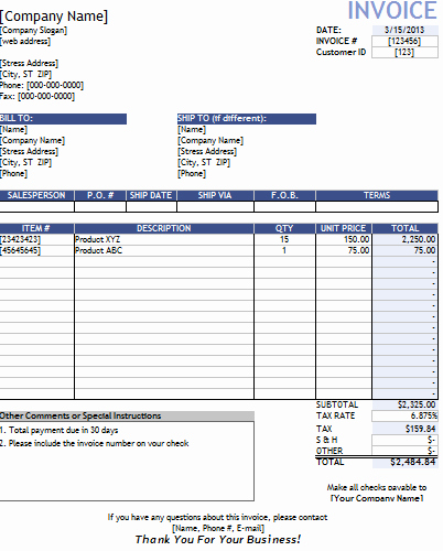 Contractor Invoice Template Word Unique Invoice Template Contractor