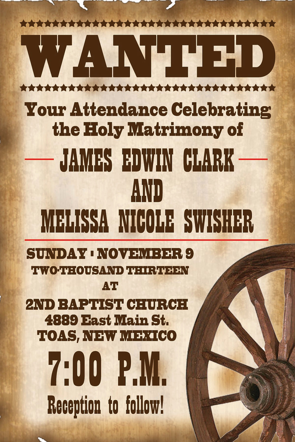 Cowboy Invitations Template Free Awesome 6 Best Of Free Printable Western Wanted Invitations