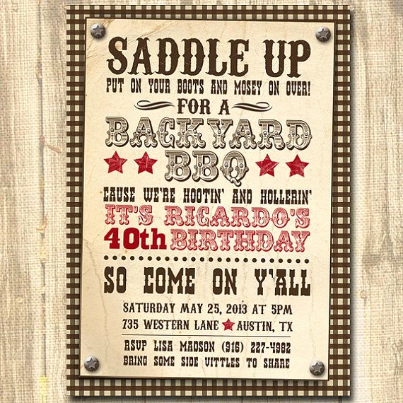 Cowboy Invitations Template Free Best Of 25 Best Ideas About Western Invitations On Pinterest