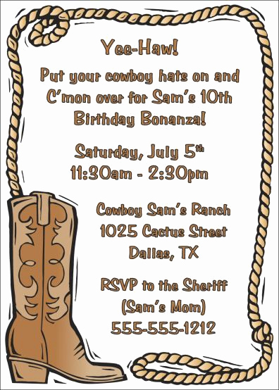Cowboy Invitations Template Free Best Of Best 25 Western Invitations Ideas On Pinterest