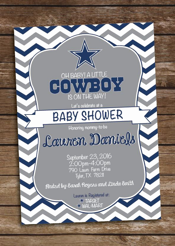 Cowboy Invitations Template Free Fresh 25 Best Ideas About Dallas Cowboys Baby On Pinterest