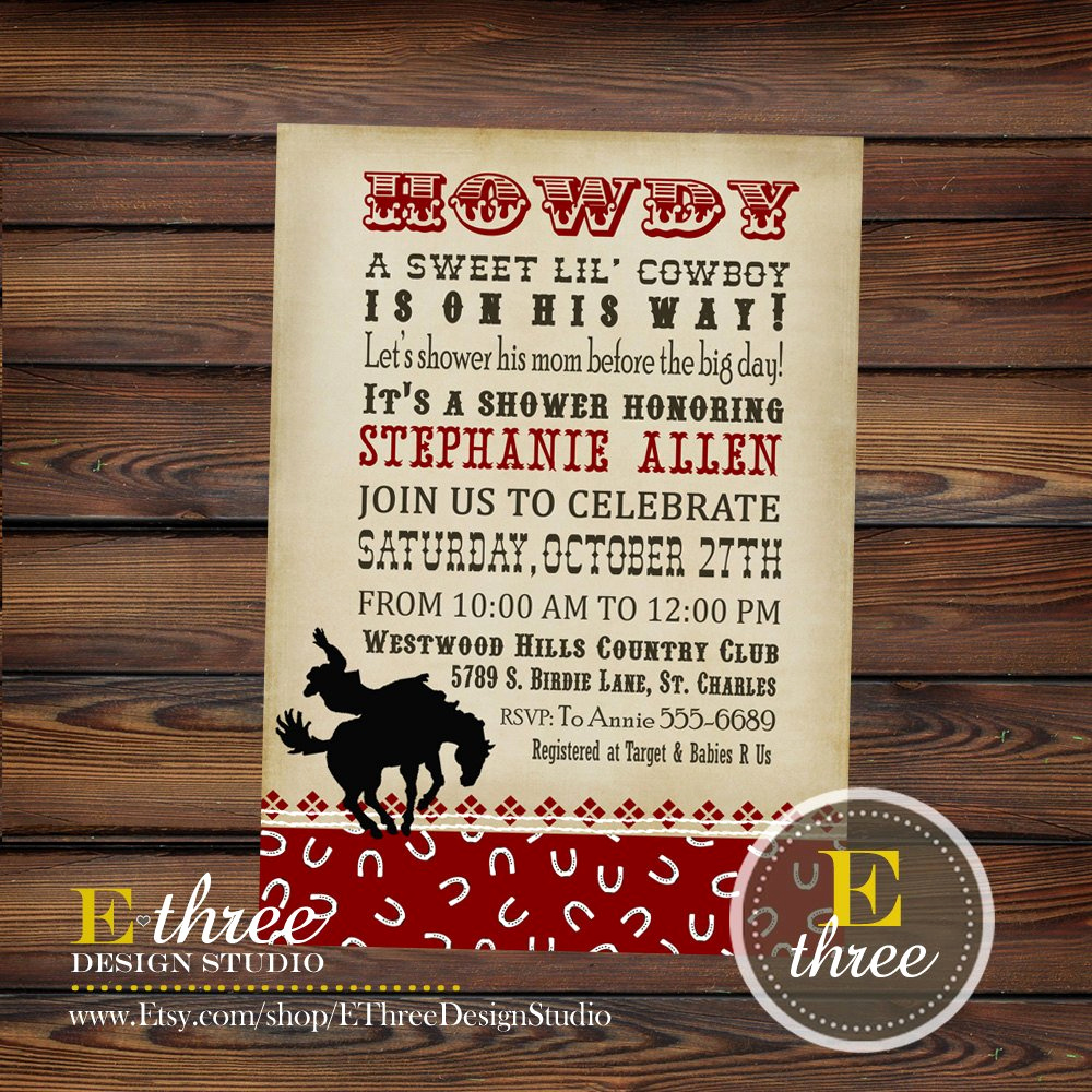 Cowboy Invitations Template Free Lovely 40th Birthday Ideas Free Printable Western Birthday