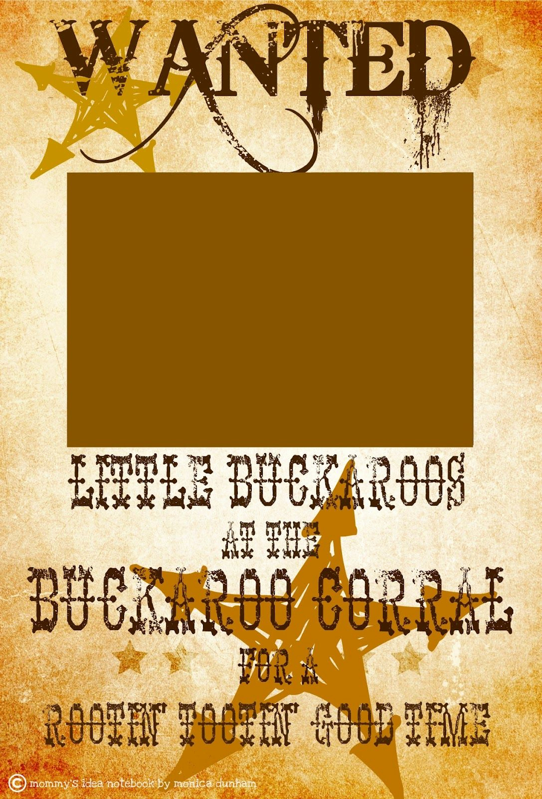 Cowboy Invitations Template Free New Free Western Wanted Sign