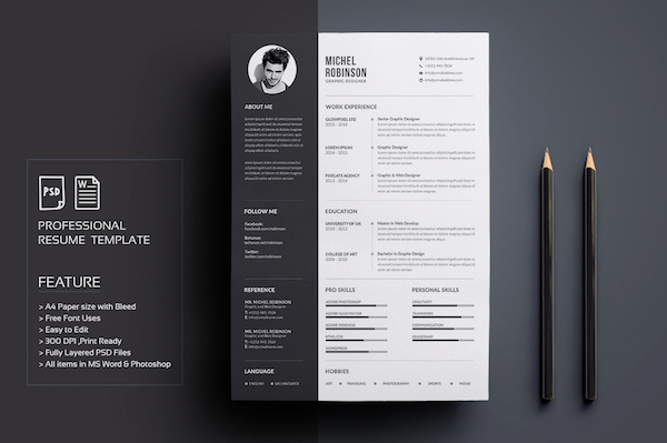 Creative Resume Template Word Awesome Creative Résumé Templates that You May Find Hard to