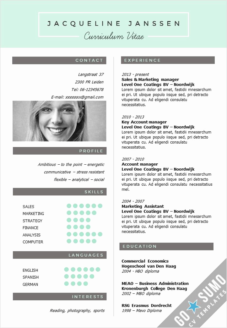 Creative Resume Template Word Best Of 25 Best Ideas About Creative Cv Template On Pinterest