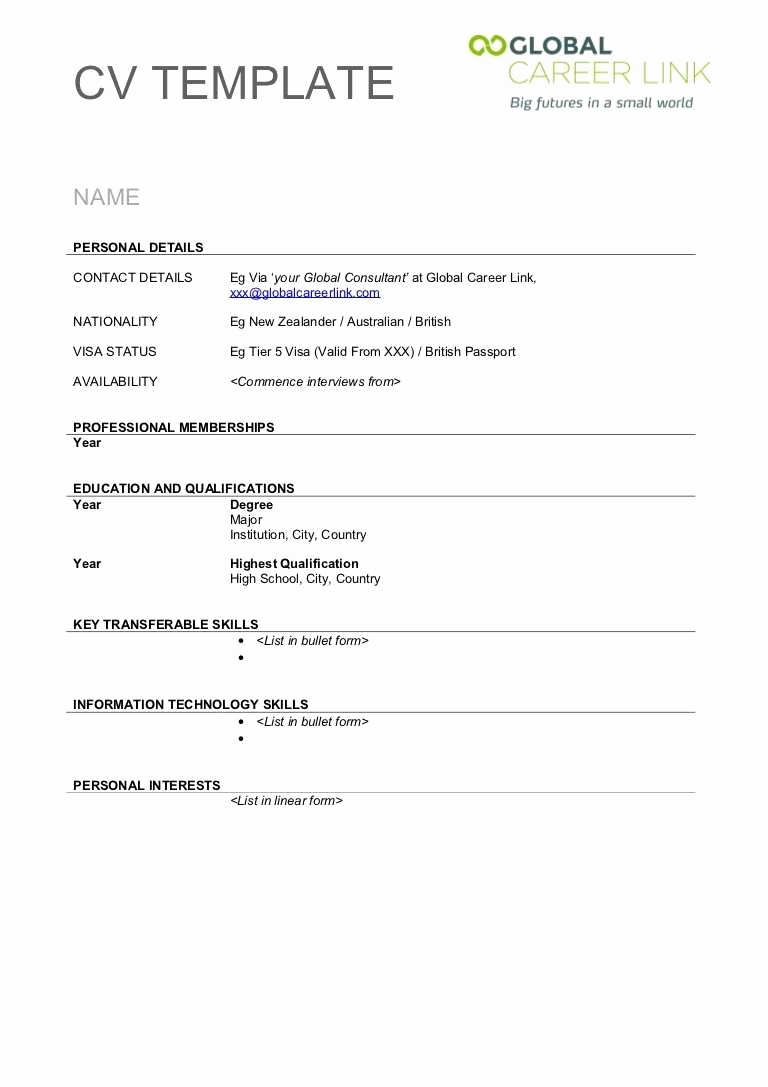 Creative Resume Template Word Best Of 41 Last Creative Resume Templates Free Download for