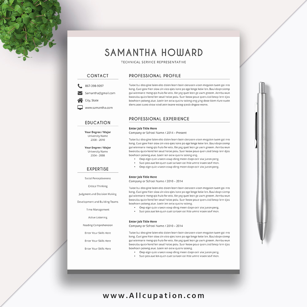 Creative Resume Template Word Elegant Creative Resume Template Word Oursearchworld