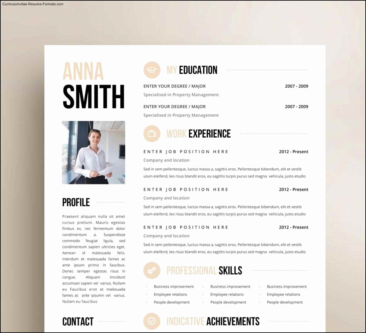 Creative Resume Template Word Inspirational Creative Resume Templates Free Word Free Samples