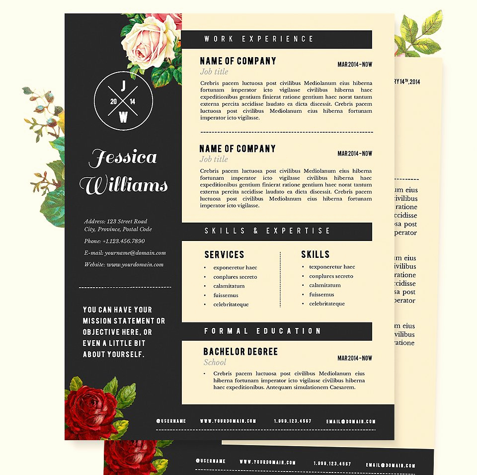 Creative Resume Template Word Lovely Creative Resume Template 2019 List Of 10 Creative Resume
