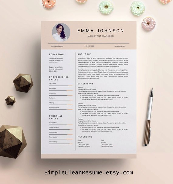 Creative Resume Template Word Lovely Creative Resume Template Creative Resume Design Resume