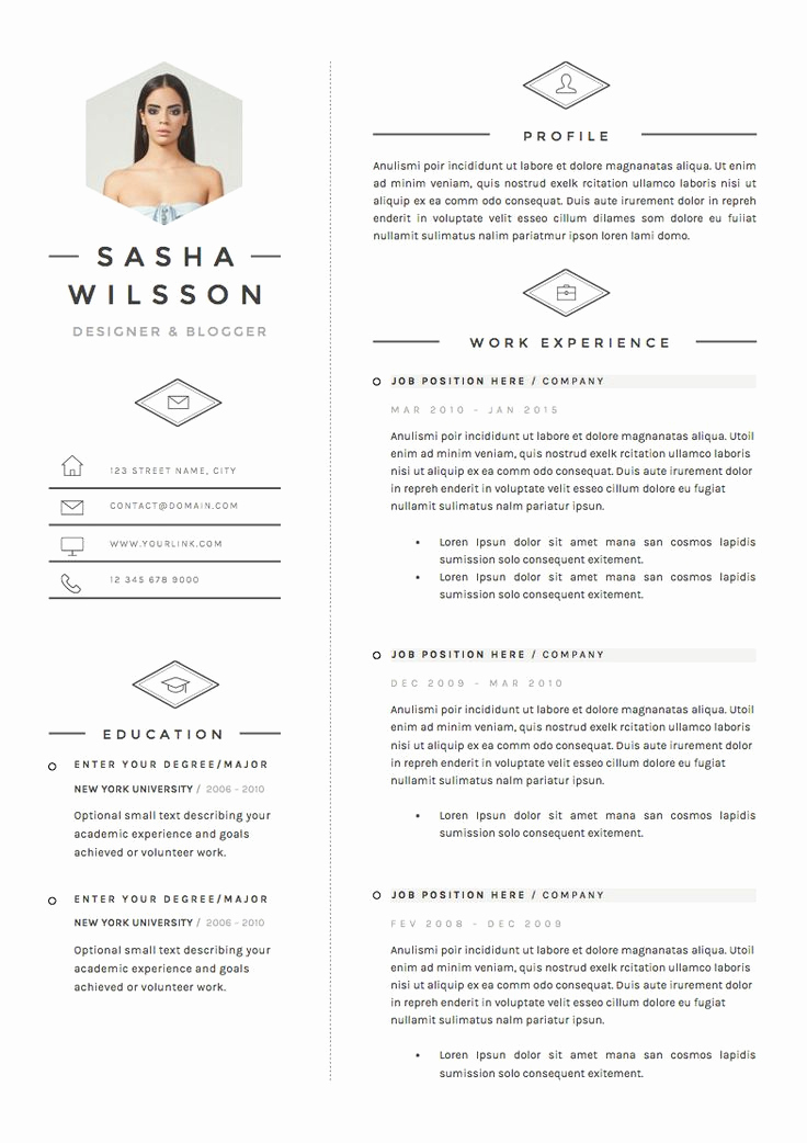 Creative Resume Template Word Luxury 5 Page Resume Template Cv Template Pack Cover Letter