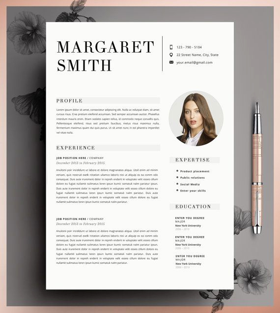 Creative Resume Template Word New 25 Best Ideas About Cv Template On Pinterest