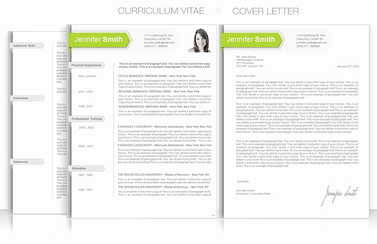 Curriculum Vitae Template Microsoft Word Awesome Cv Template • Cv Template Package Includes Professional