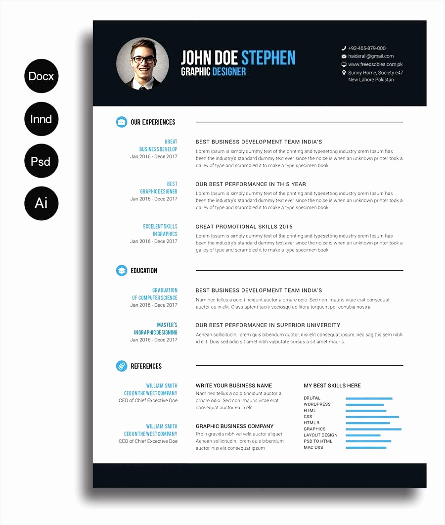 Curriculum Vitae Template Microsoft Word Unique 5 Cv Template Word Mac Download