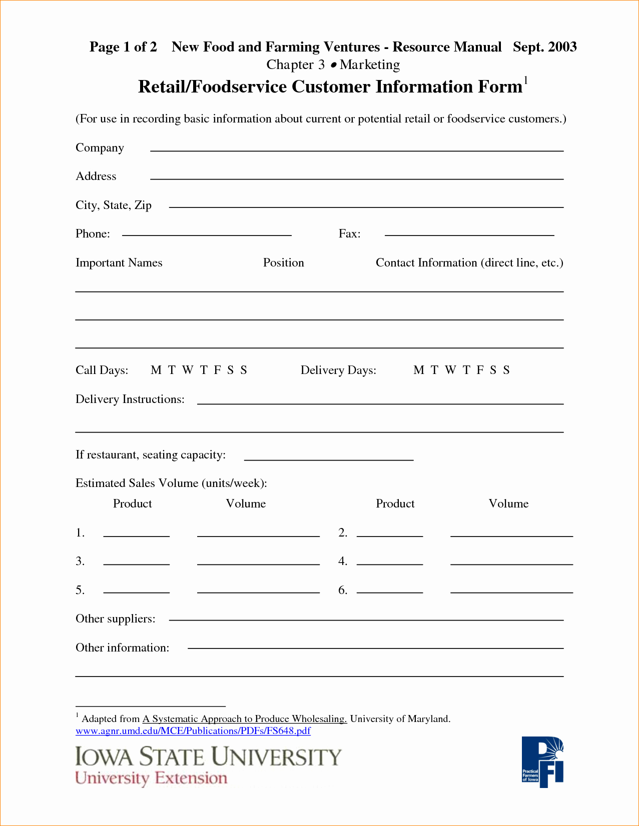 Customer Information Sheet Template New Pany Information Template Portablegasgrillweber