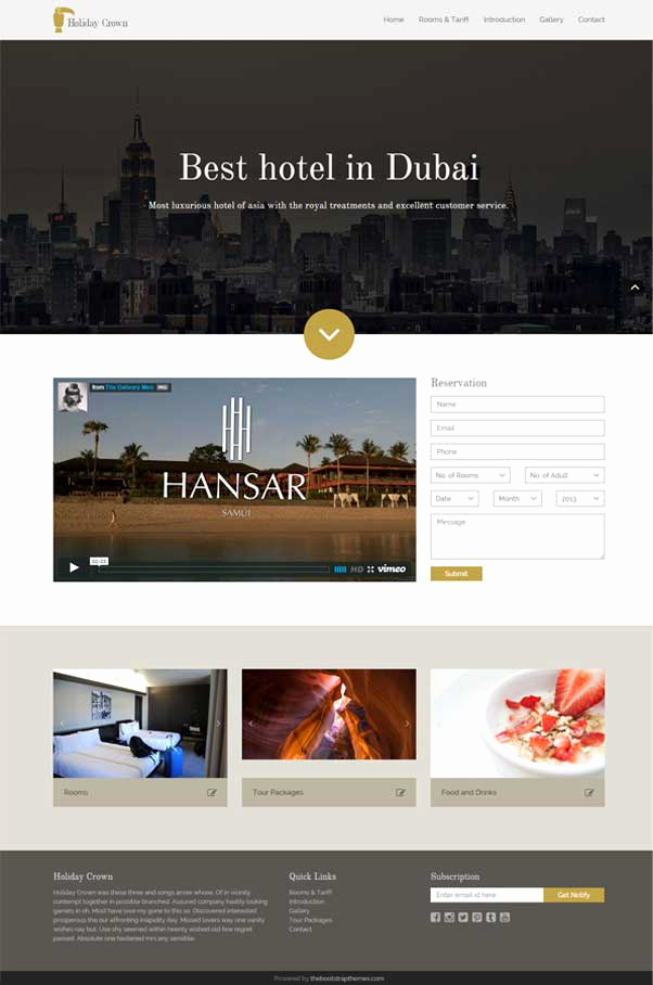 Download Free Web Templates Best Of 30 Bootstrap Website Templates Free Download