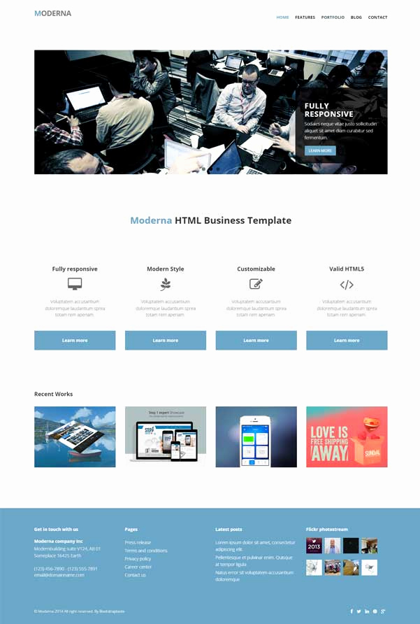 Download Free Web Templates Elegant 30 Bootstrap Website Templates Free Download
