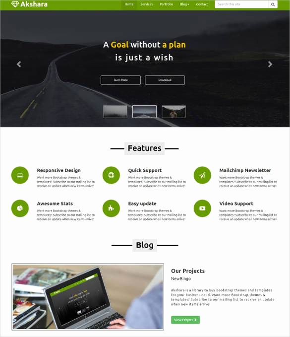 Download Free Web Templates Fresh 23 Responsive HTML5 themes & Templates