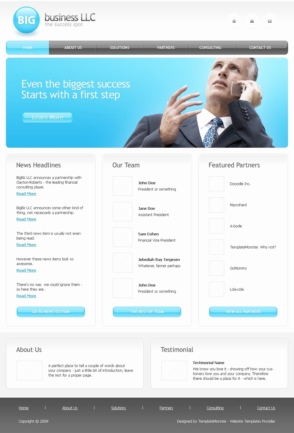 Download Free Web Templates Fresh Free Business Website Template