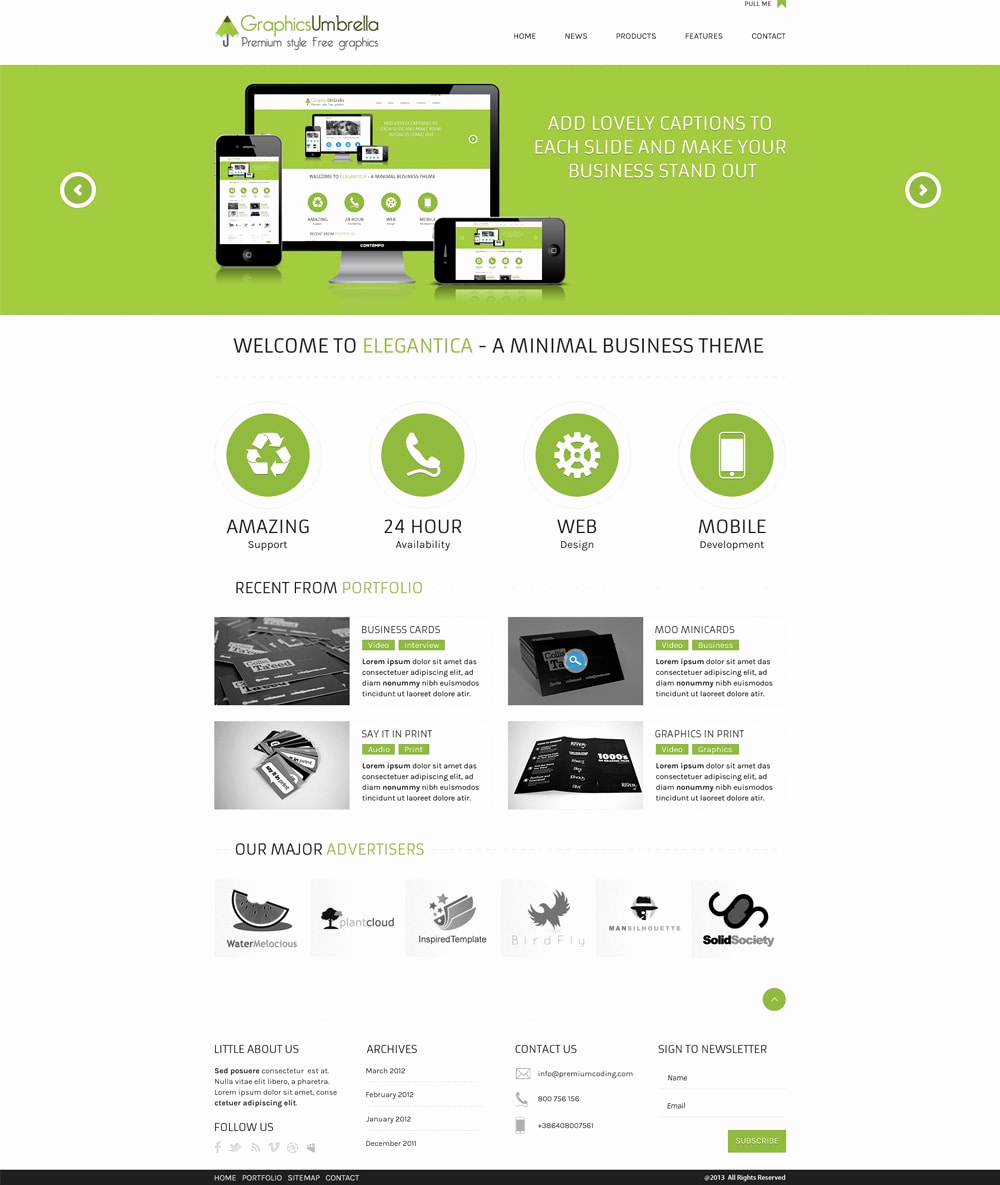 Download Free Web Templates Inspirational Free Corporate and Business Web Templates Psd