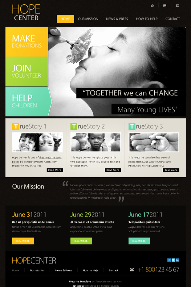 Download Free Web Templates Luxury 17 Charity HTML Website Templates Free & Premium Download