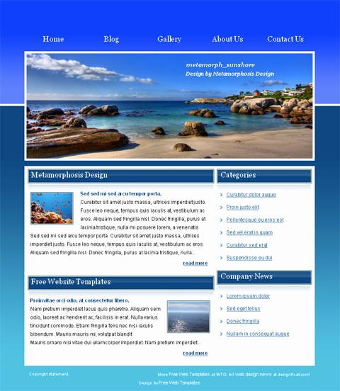 Download Free Web Templates New 15 HTML Web Templates Free Download HTML Website