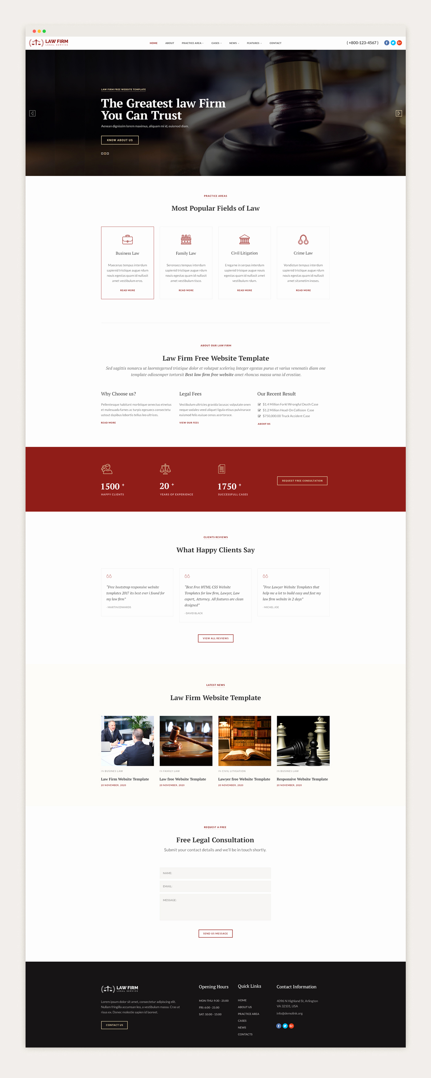 Download Free Web Templates New Law Bootstrap Website Templates Free Download Jitu Chauhan