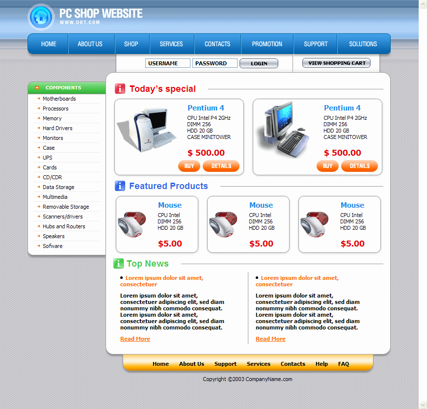 Download Free Web Templates Unique Download Free HTML Templates