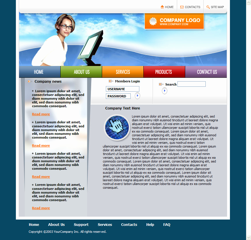 Download Free Web Templates Unique Free HTML Templates
