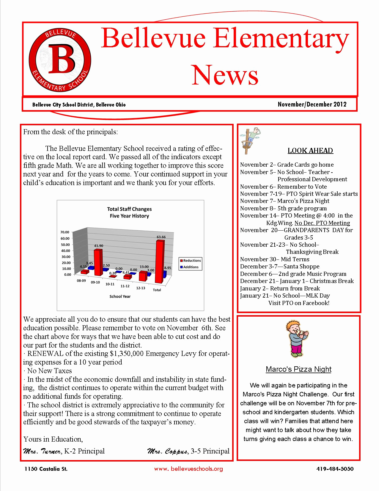 Elementary School Newsletter Template Awesome Elementary School Newsletters 5th Grade Class Newsletter