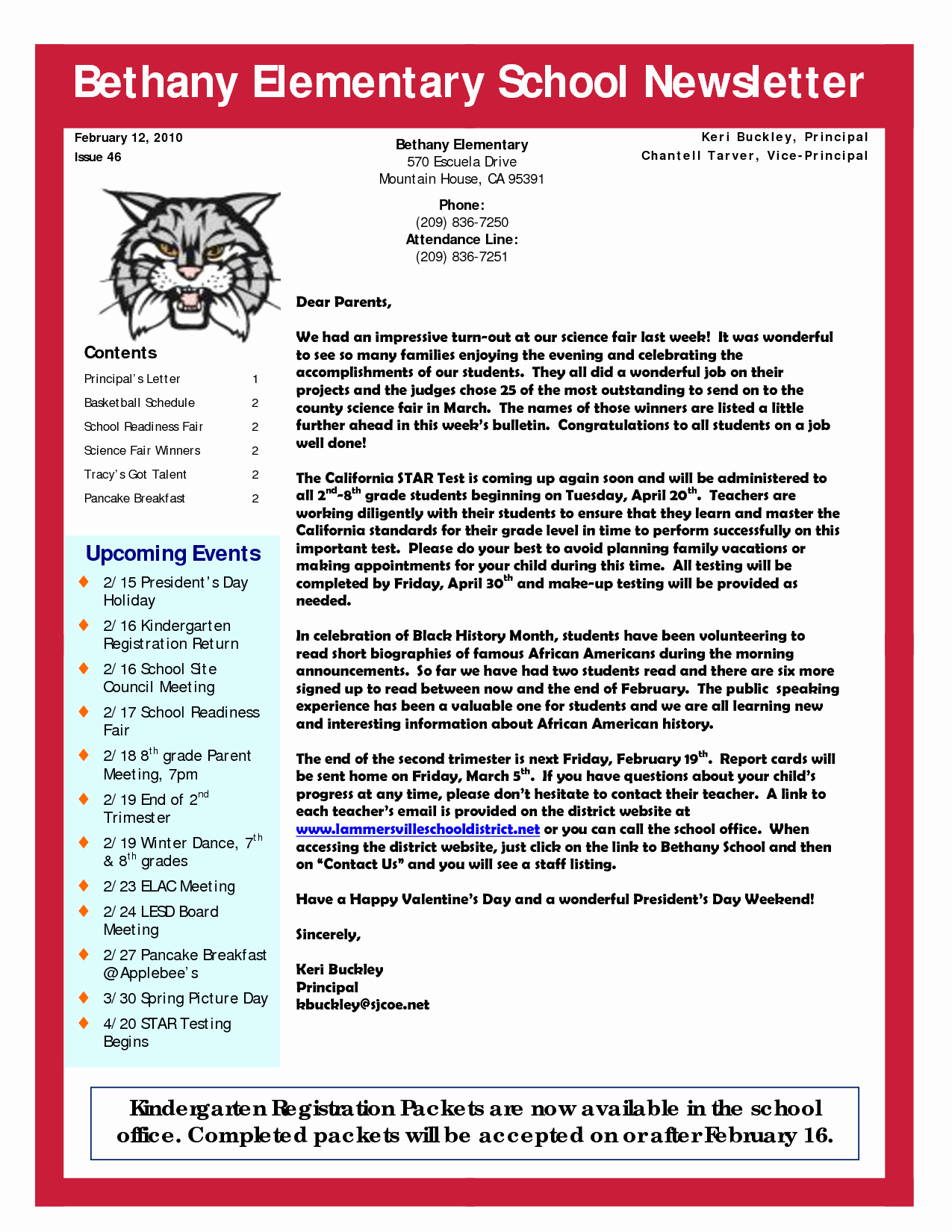 Elementary School Newsletter Template Beautiful 6 Best Of Elementary School Newsletter Templates