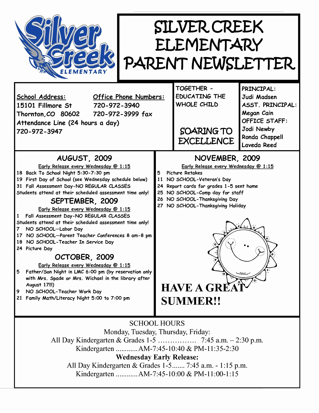 Elementary School Newsletter Template Best Of Best S Of Parent Newsletter Examples Sample Parent