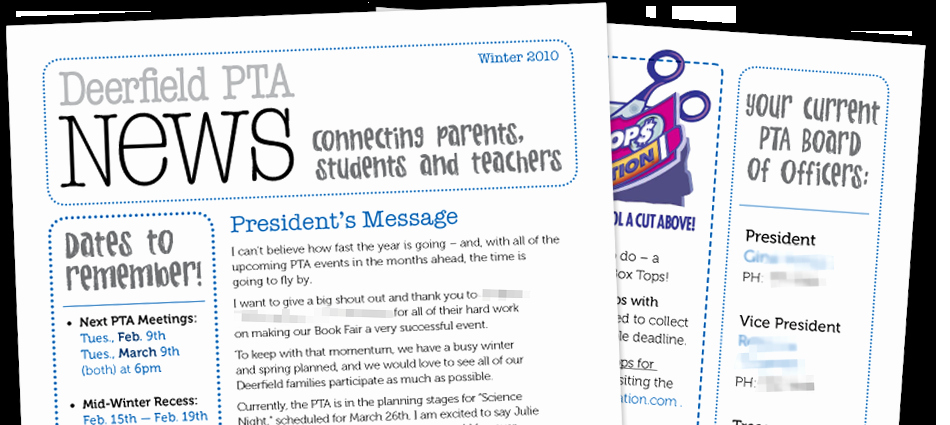 Elementary School Newsletter Template Best Of Pta Newsletter Local Elementary School