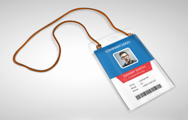 Employee Id Card Templates Awesome 10 Free Employee Id Card Design [templates & Mockups