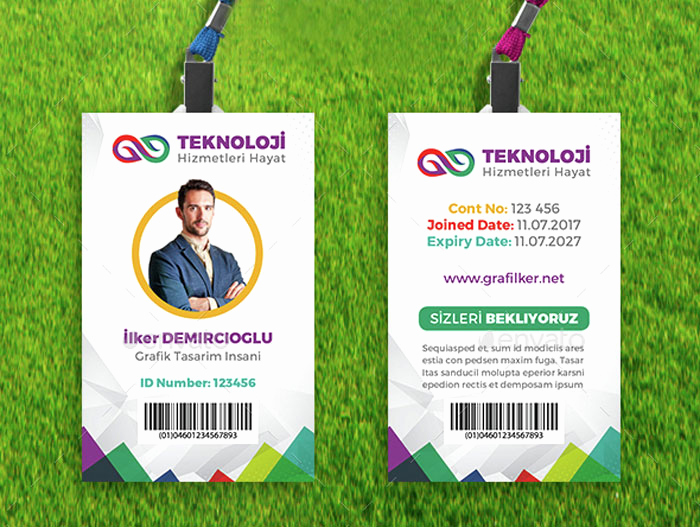 Employee Id Card Templates Awesome 15 Best Id Card Template Design In Psd and Ai Designyep