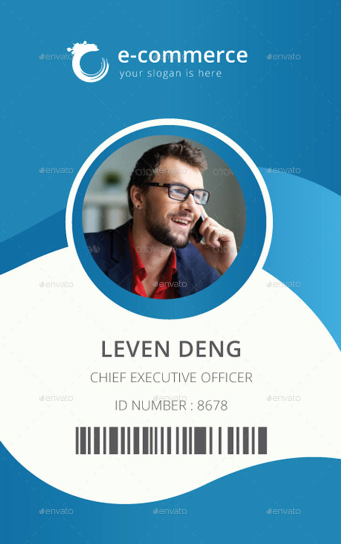 Employee Id Card Templates Beautiful 15 Best Id Card Template Design In Psd and Ai Designyep