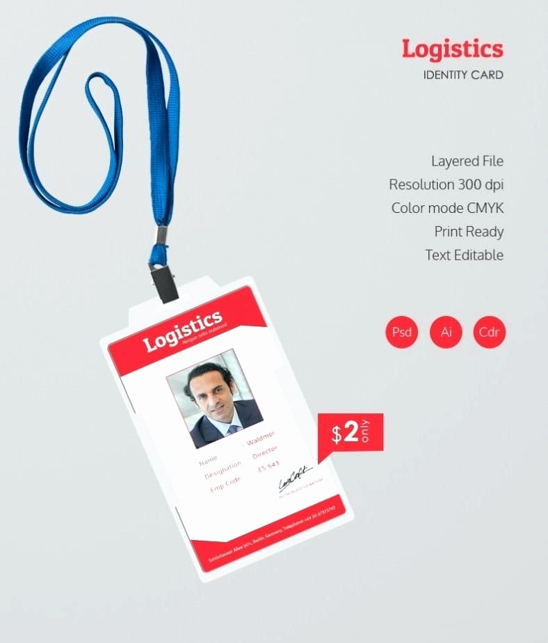 Employee Id Card Templates Beautiful Employee Card Template Simple Id Card Template Employee