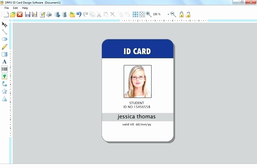 id badge templates merit card template photo word blue vertical design employee id card template jurassic park id badge template free id tag template