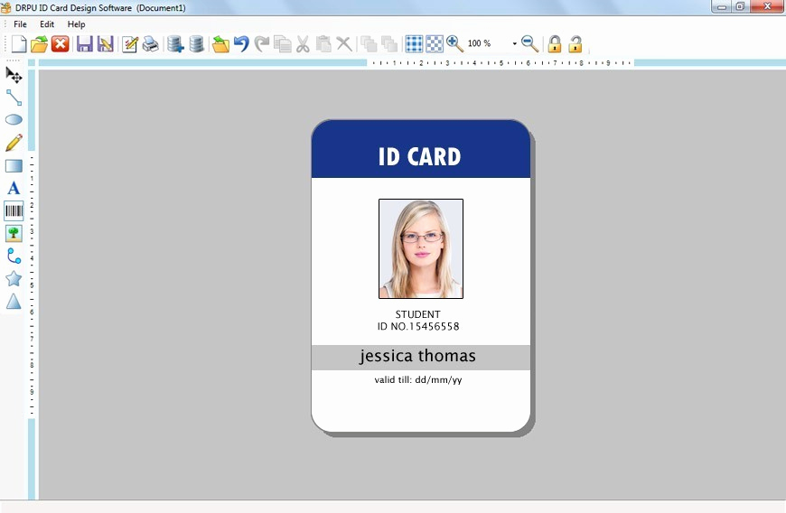 Employee Id Card Templates Inspirational Great Employee Badge Template S Corporate Id Card