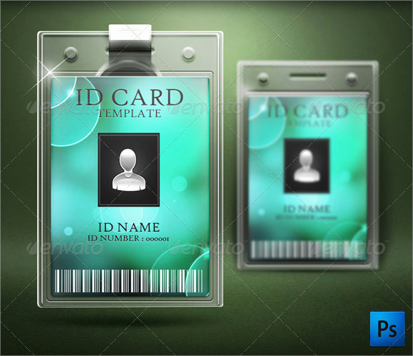 Employee Id Card Templates Inspirational Id Card Template 19 Download In Psd Pdf Word