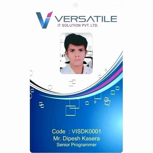 Employee Id Card Templates Luxury Staff Badge Template Word Id Card Template Staff Badge