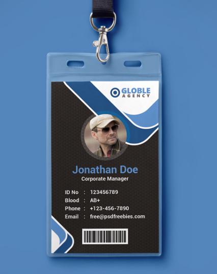 Employee Id Card Templates New Free Employee Id Card Template Img 58bd694ac1895