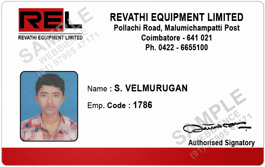 Employee Id Card Templates New Webbience Employee Id Card Templates