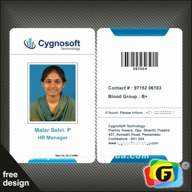 Employee Id Card Templates Unique Corporate Id Card Template – Gradyjenkins