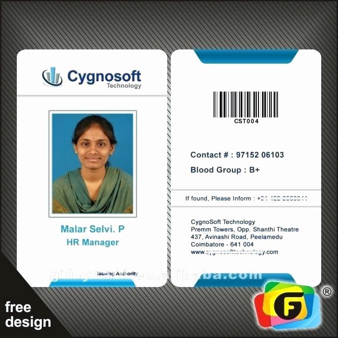 Employee Id Card Templates Unique Corporate Id Card Template – Gradyjenkins