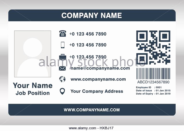 Employee Identity Card Template Awesome Employee Id Card Stock S & Employee Id Card Stock