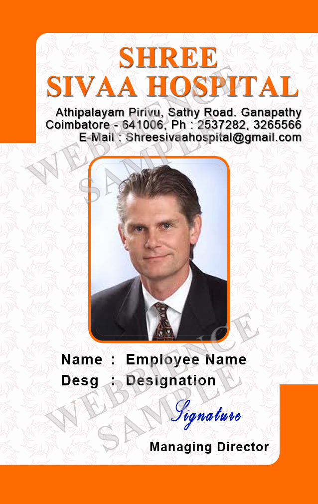 Employee Identity Card Template Beautiful Id Card Coimbatore Ph Identity Cards