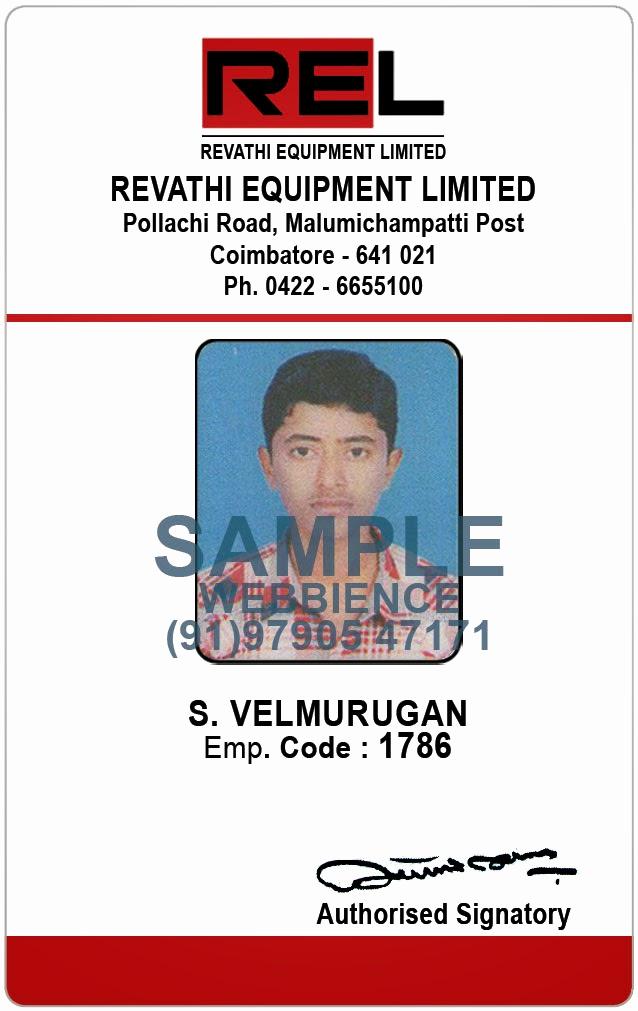 Employee Identity Card Template Beautiful Webbience Employee Id Card Templates