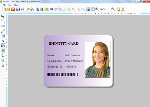 Employee Identity Card Template Elegant Free Download Student Id Card Template Psd