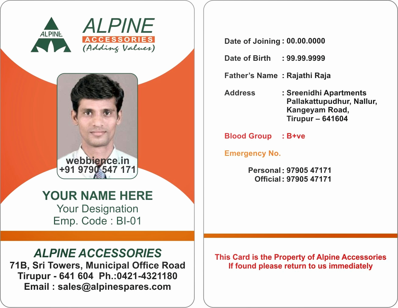 Employee Identity Card Template Inspirational 17 Id Badge Template Id Badge Template Microsoft